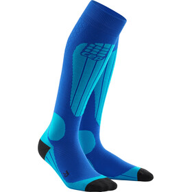 cep Thermo Ski Socks Damer, blue/azure
